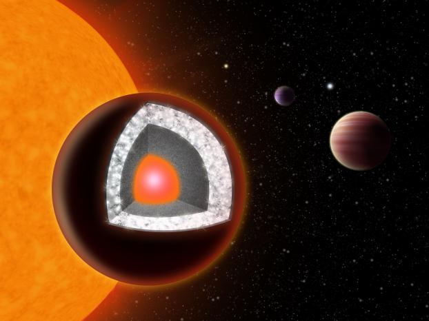 Un diamant de taille astronomique
