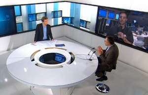 Paul de Brem sur TV5 le 06-08-2014