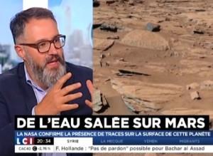 Paul de Brem - Eau liquide Mars - LCI