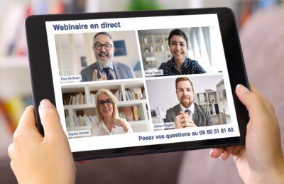 webinars et webconférences